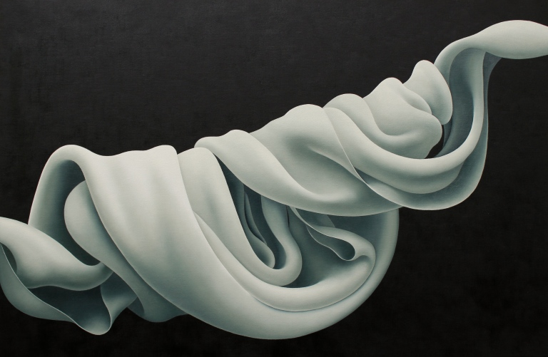"""""""Knot in the slightest""""   oil on canvas  24"""" x 36"""""""