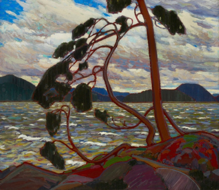 "Tom Thomson, ""West Wind"" 1916. Collection of The Art Gallery of Ontario."