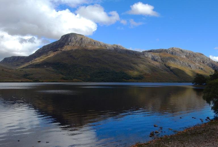 Beinn a Mhuinidh and Loch Maree